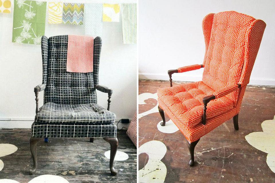Как переделать старое кресло своими руками