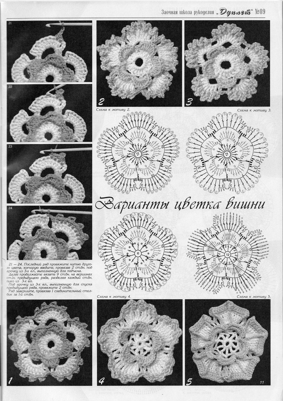 60 схем бабушкиных квадратов с мастер - классами