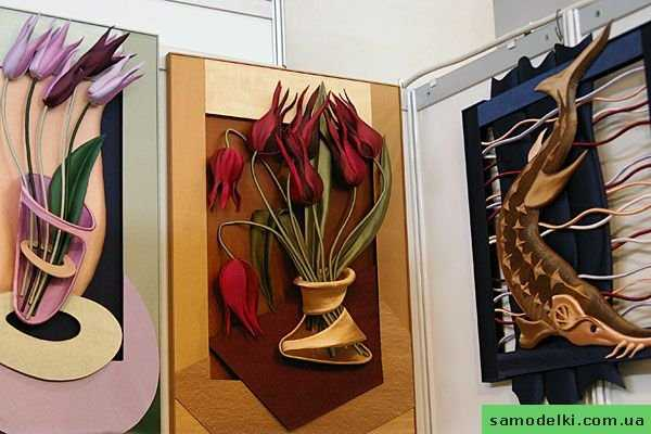 Картина из трех цветов