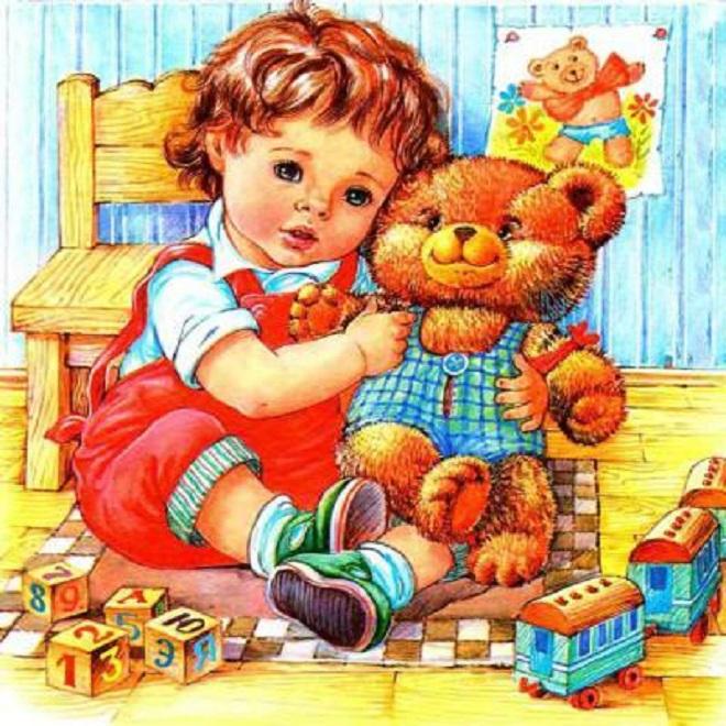 Стихи девочка и плюшевый мишка - сборник красивых стихов в доме солнца