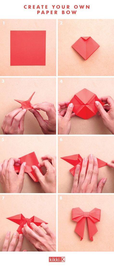 Как сделать бантик: красивые и пышные модели своими руками