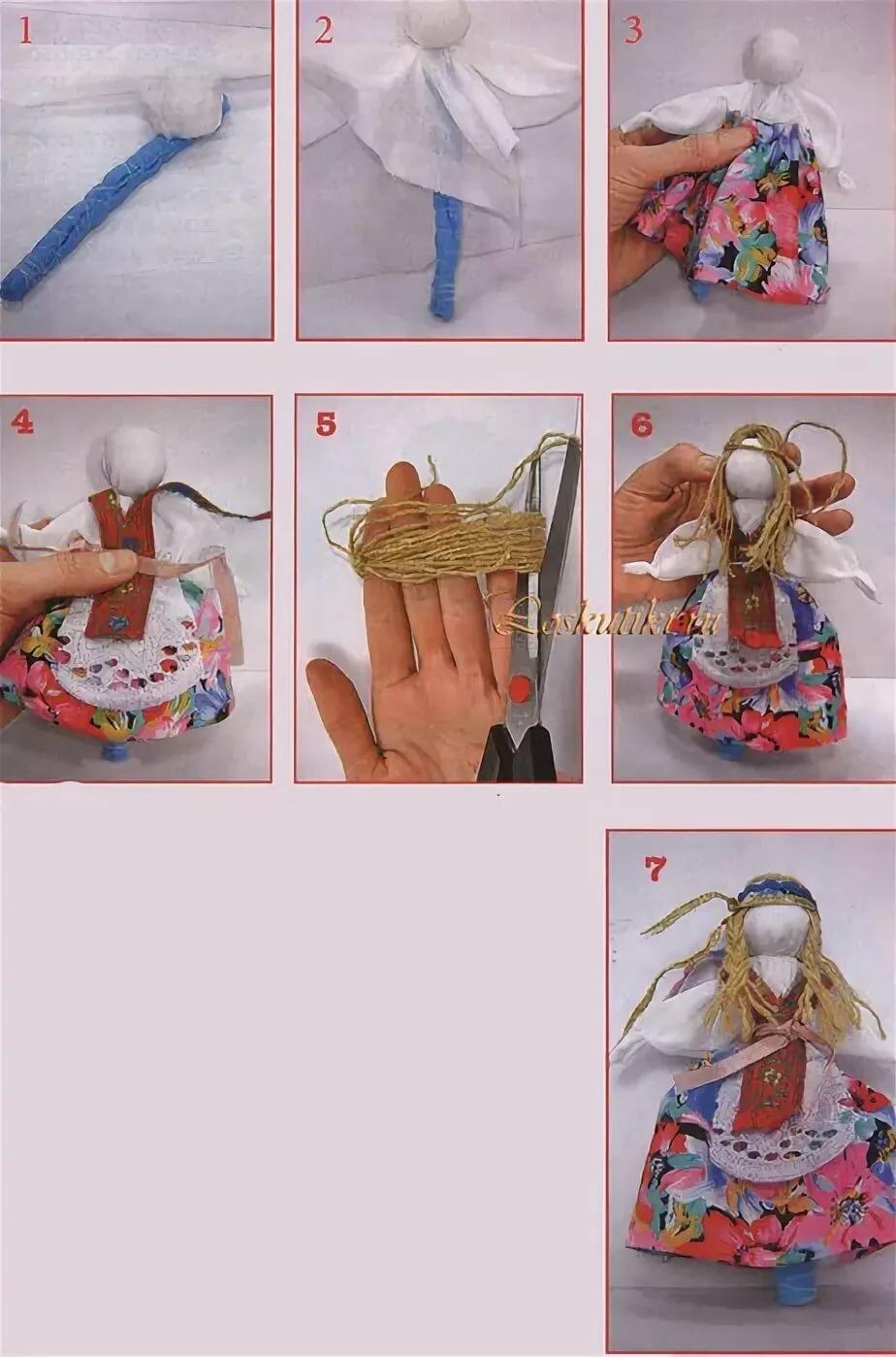 Лялька мотанка — как сделать оберег из ниток самостоятельно?