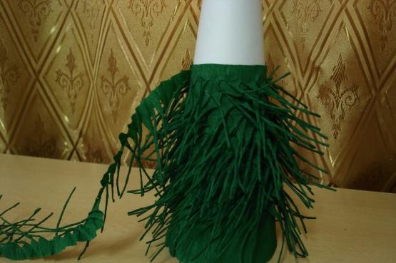 Веточка ели из бумаги своими руками. объемная елка из бумаги: схемы и шаблоны. как сделать объемную елку из гофрированной бумаги на новый год