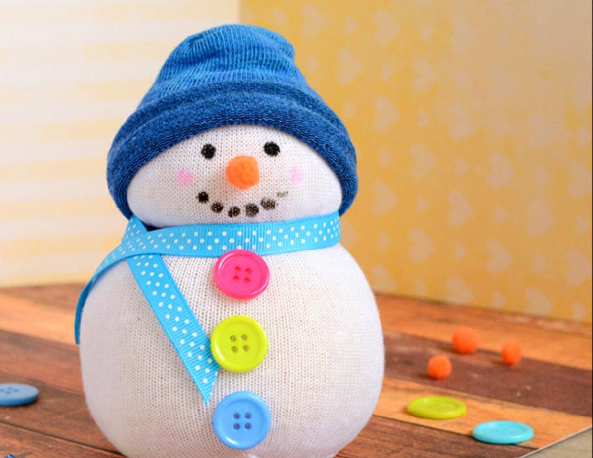 50 новогодних снеговиков – фото, мастер классы - каталог статей на сайте - домстрой