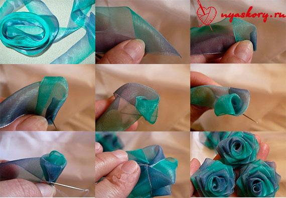 Розы из ткани: мастер-класс для начинающих по пошиву своими руками
