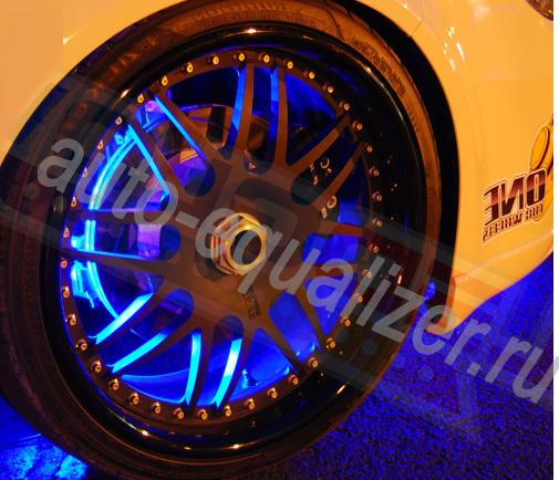Подсветка колес для автомобиля своими руками