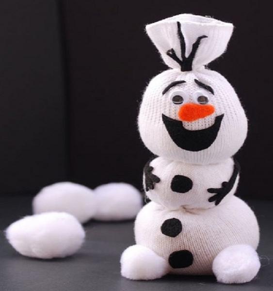 Снеговики своими руками: пошаговые мастер-классы на новый год