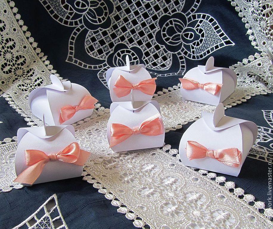 Лучшие варианты бонбоньерок на свадьбу и идеи создания своими руками