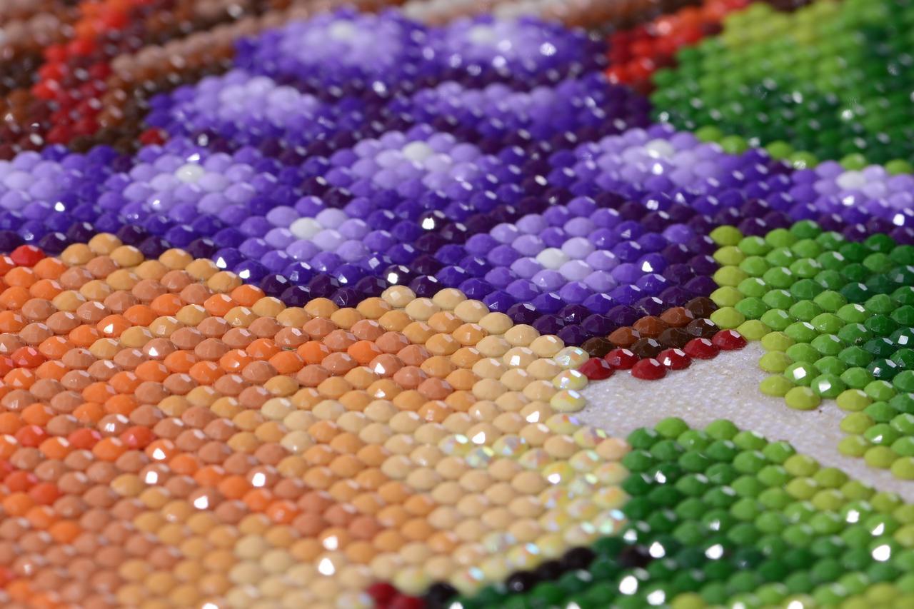 Алмазная мозаика - как правильно вышивать ее