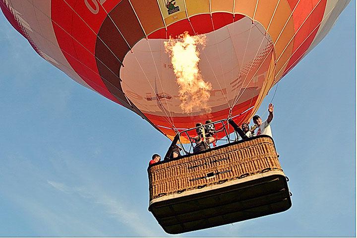 Каким образом осуществляется управление воздушным шаром?