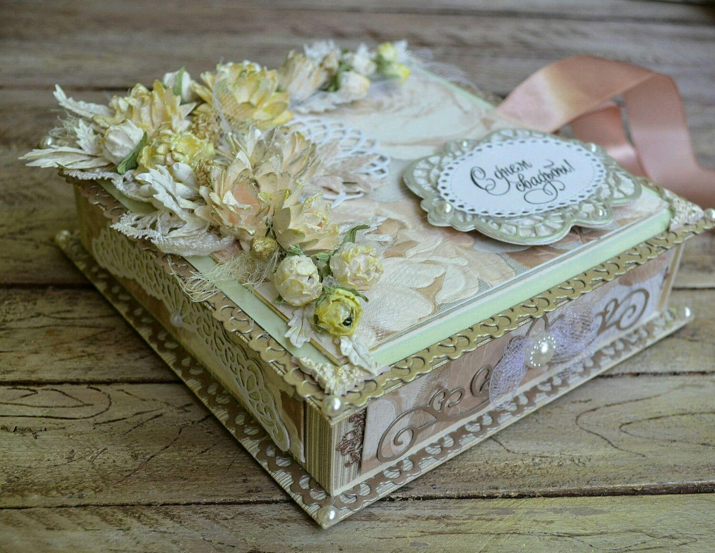 Коробка для денег на свадьбу своими руками ? мастер класс