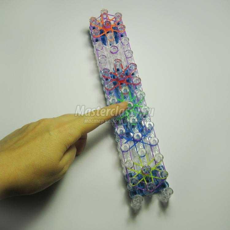 Как сделать звезду из резинок. браслет из резинок «звездочка как сделать звезду из резинки