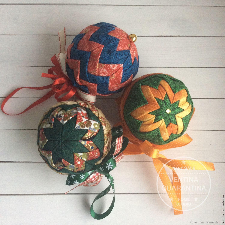 """Декор предметов мастер-класс новый год артишок как я делаю новогодние шары в технике """"артишок"""" бусины клей ленты"""