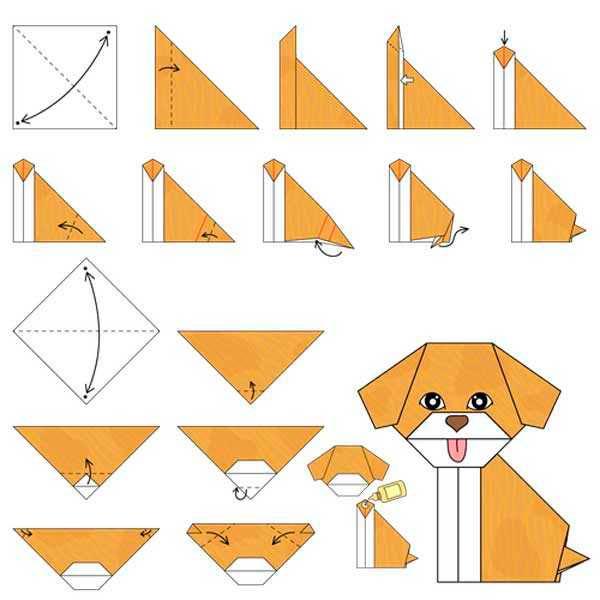Оригами кошка — схемы, оформление, дизайн и методы сборки лучших моделей бумажной кошки (115 фото)