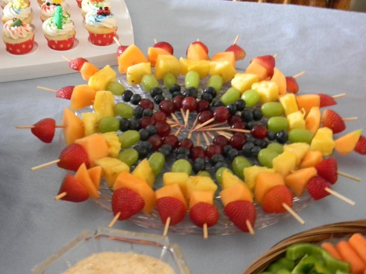 5 вариантов оформления фруктовой тарелки