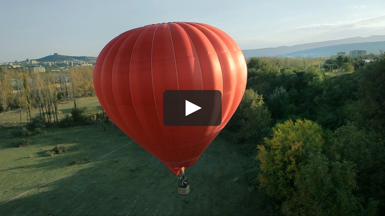 Воздушный шар или летательный аппарат