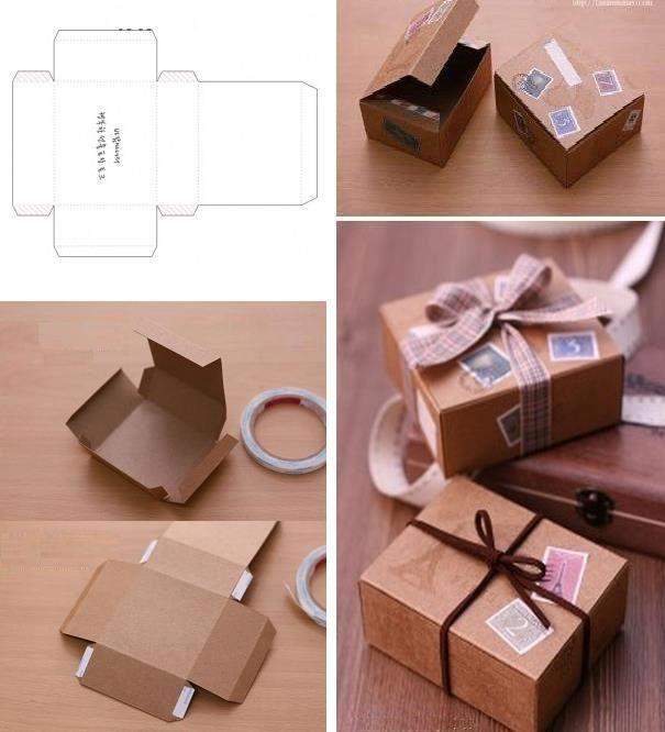 Как сделать коробку своими руками :: инфониак