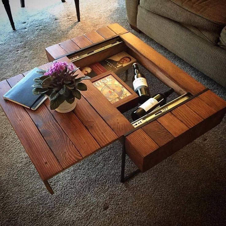 Мобильный стол из обычного