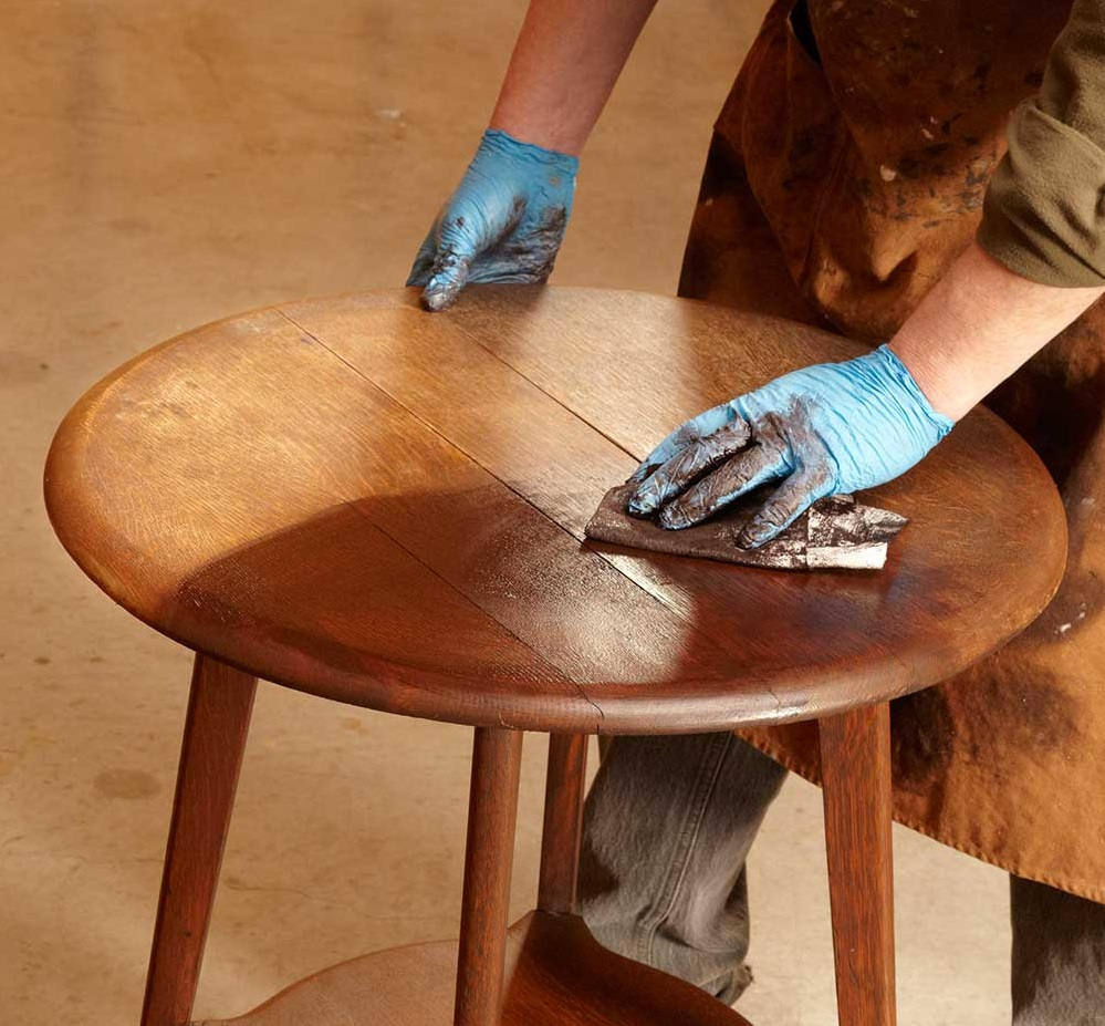 Реставрация кухонного стола своими руками – мастер-класс, идеи, фото
