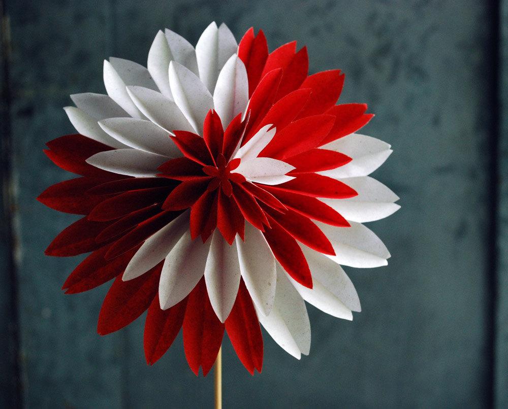ᐉ красивые объёмные цветы из бумаги. каллы — стильные цветы из бумаги своими руками. георгин из бумаги ✅ igrad.su