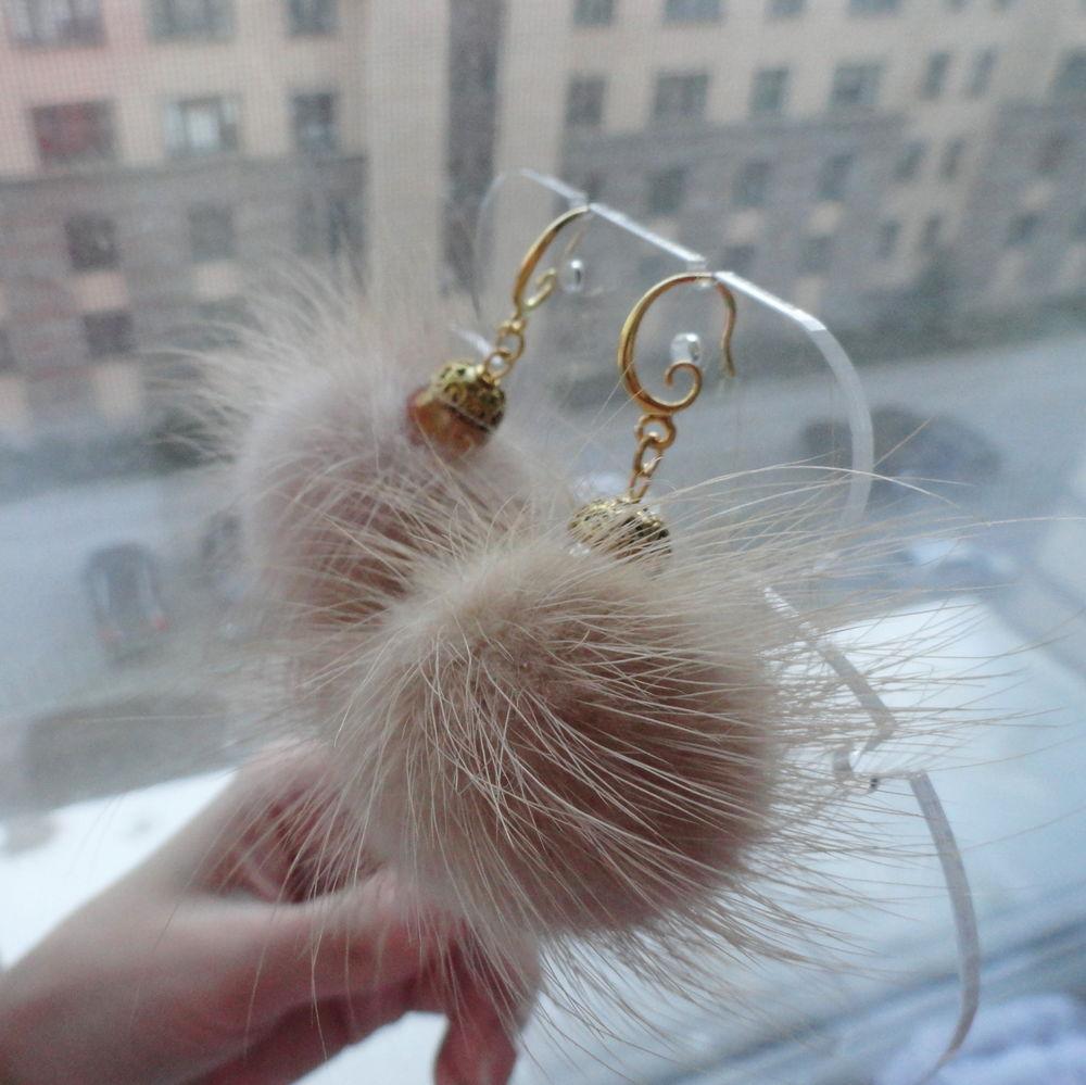 Украшения из меха: лучшие идеи меховых украшений. серьги с пушистым мехом чтобы сделать такие сережки своими руками, нам понадобится