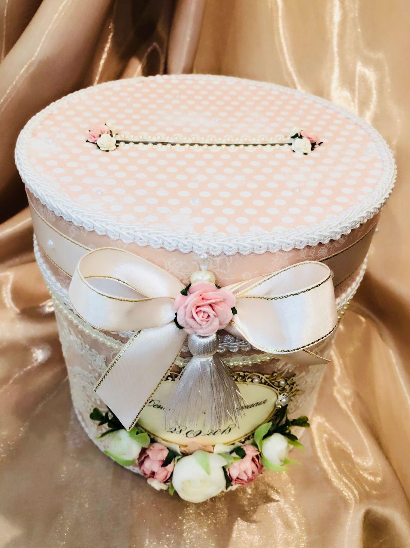 Коробка для денег на свадьбу - 72 фото оригинальных идей и сочетаний