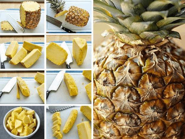 Как почистить ананас (с иллюстрациями) - wikihow