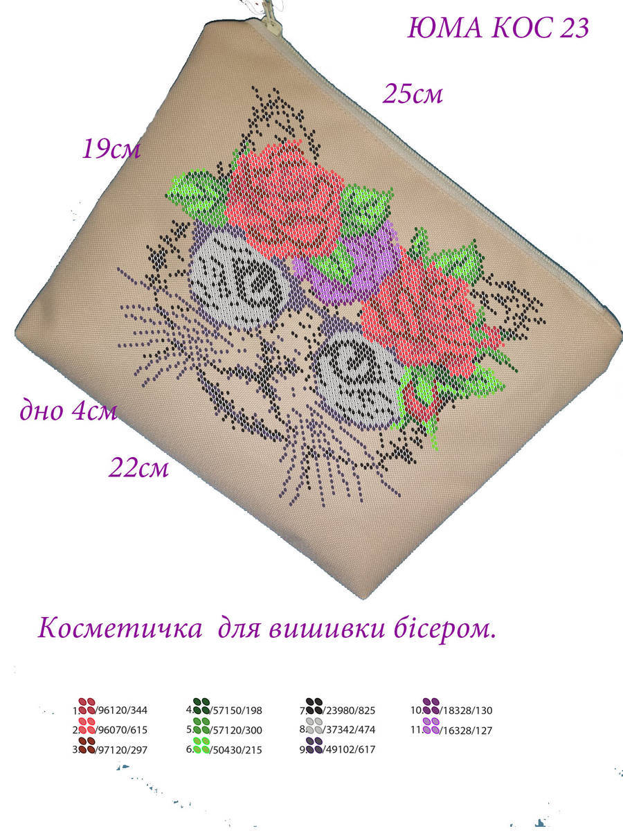 Шьем косметичку-валентинку