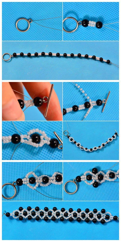 Браслет своими руками из бисера: пошаговые инструкции и схемы плетения браслета из бисера