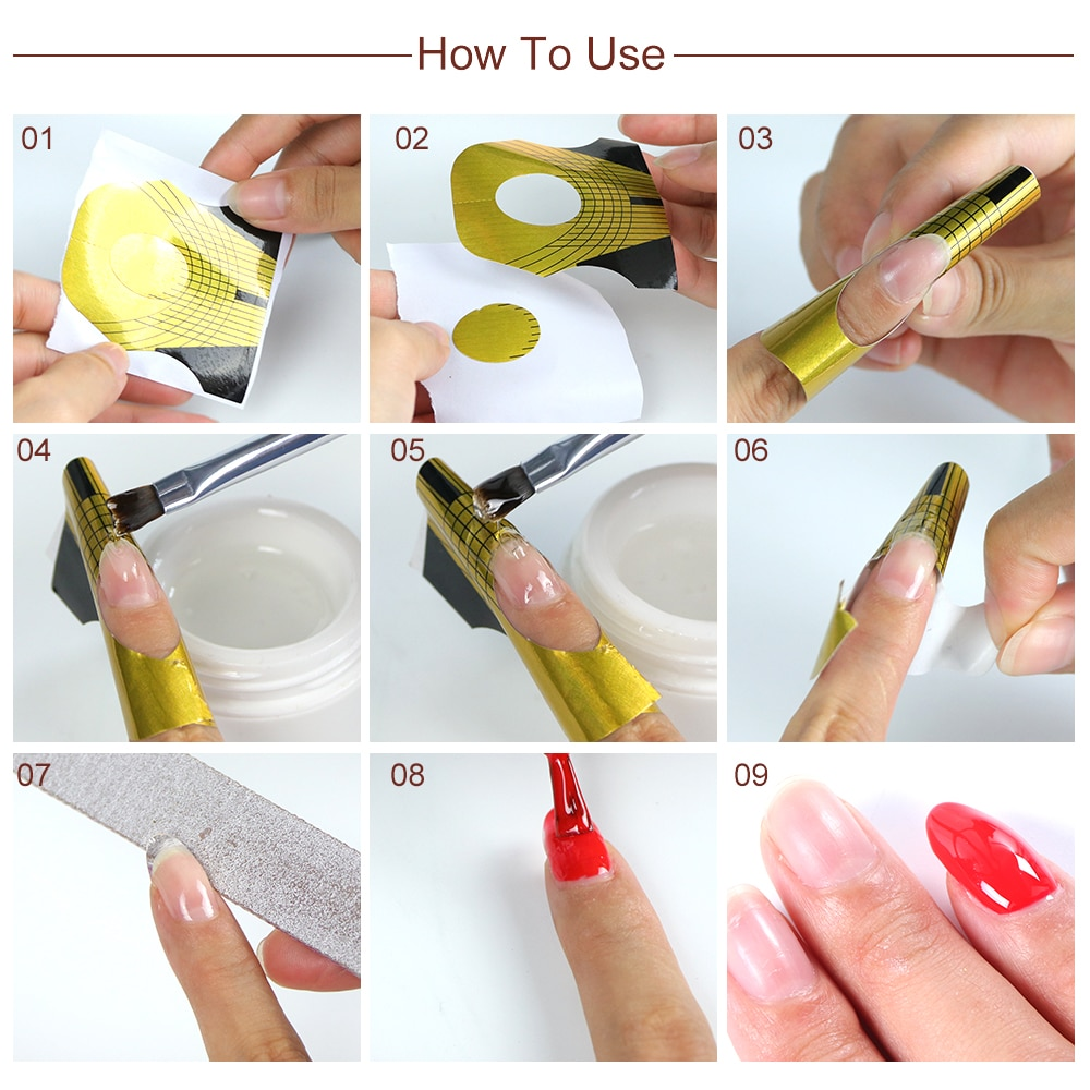 Особенности наращивания ногтей акрилом