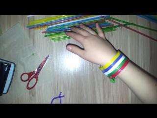 Плетение из трубочек: браслеты, фенечки с квадратным сечением, и другие плетёные аксессуары своими руками