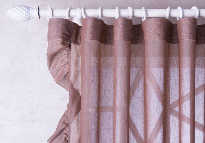 Как правильно подшить шторы: рассмотрим подробно