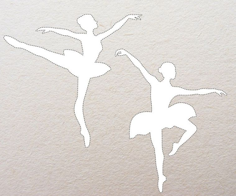 Изящная балерина из проволоки и салфеток: мастер-класс