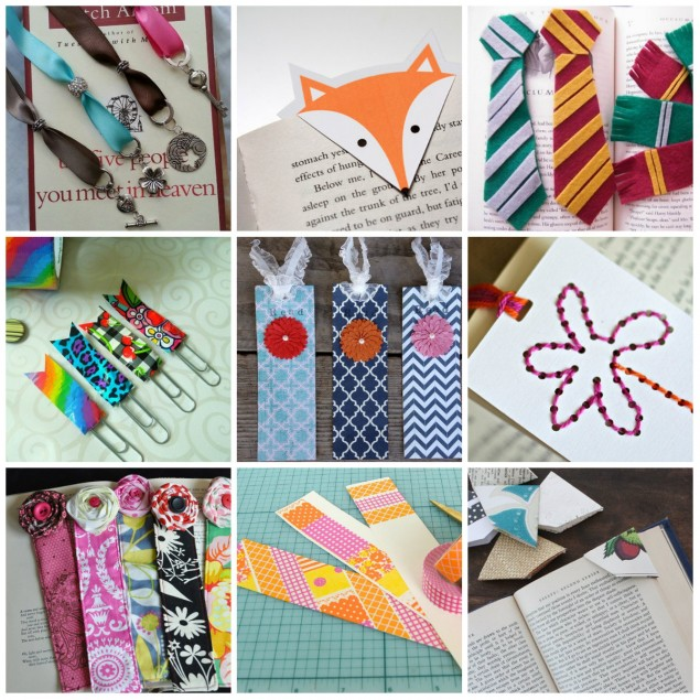 Закладки для книг своими руками - 105 фото лучших идей красивых закладок!