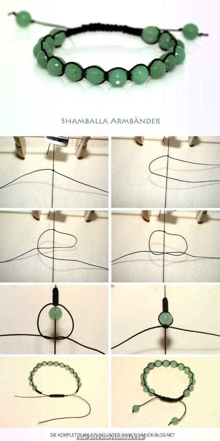 Как плести браслет шамбала — значение талисмана и материалов для него
