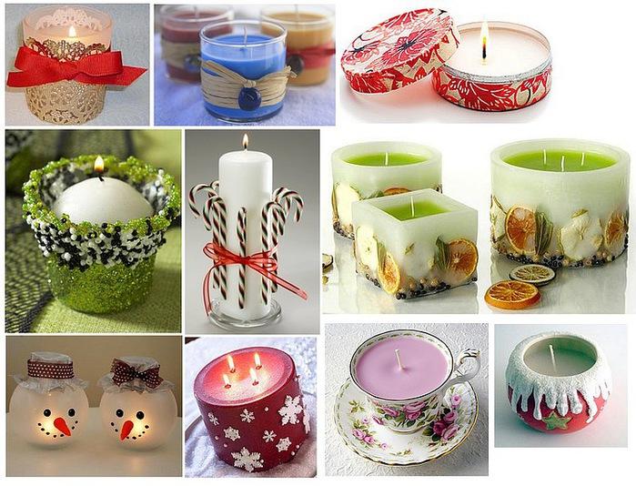 Декупаж свечей: мастер-класс по декупажу свечей салфетками к новому году и другим праздникам своими руками в домашних условиях