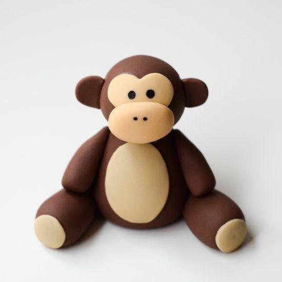 Лепим милую обезьянку — своими руками