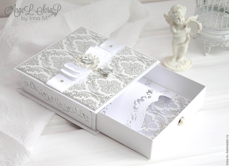 Свадебная шкатулка для денег или колец