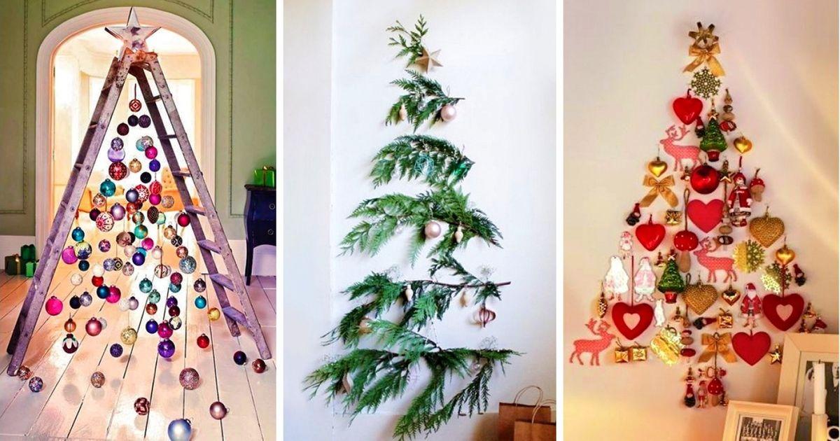 Альтернативные «елки». советы по оформлению «новогоднего» интерьера