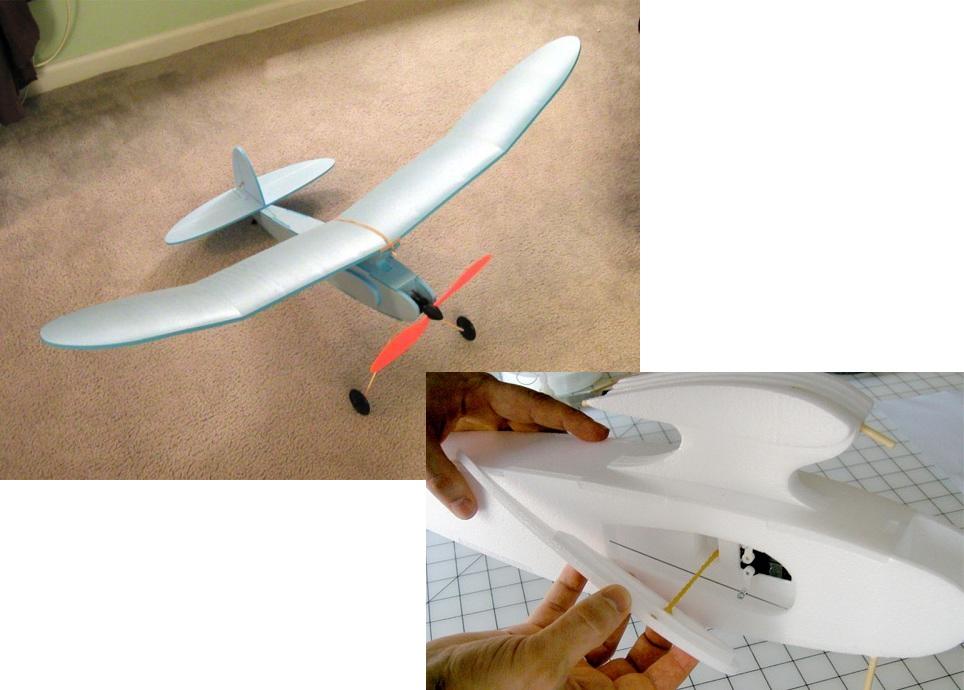 Как сделать самолет из потолочной плитки: мастер-класс с фото
