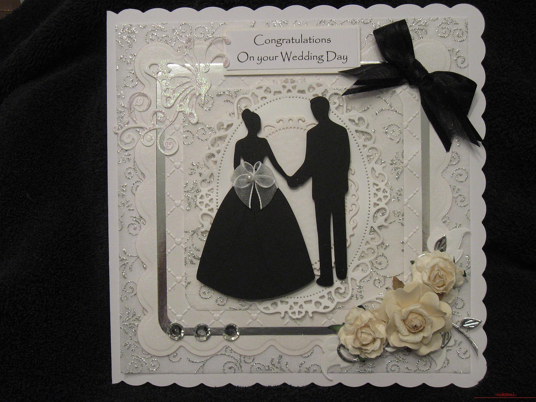 Открытки с днем свадьбы: топ-150 фото лучших новинок. самые красивые варианты дизайна открытки на свадьбу для молодоженов
