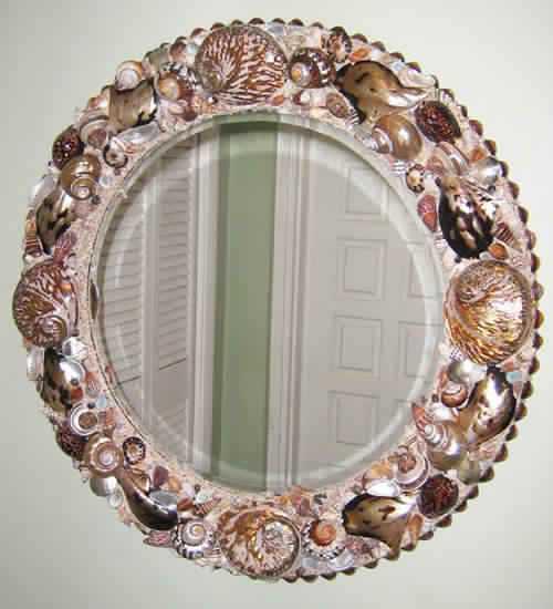 Как украсить зеркало: идеи и примеры популярного декора