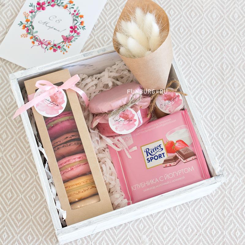Оригинальная коробочка под подарок