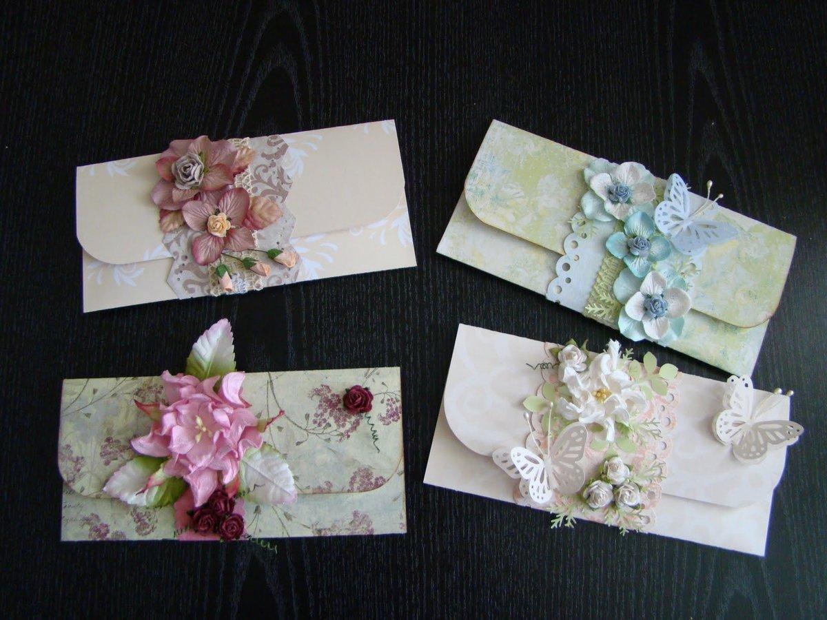 Свадебный конверт для денег: как выбрать или сделать своими руками?