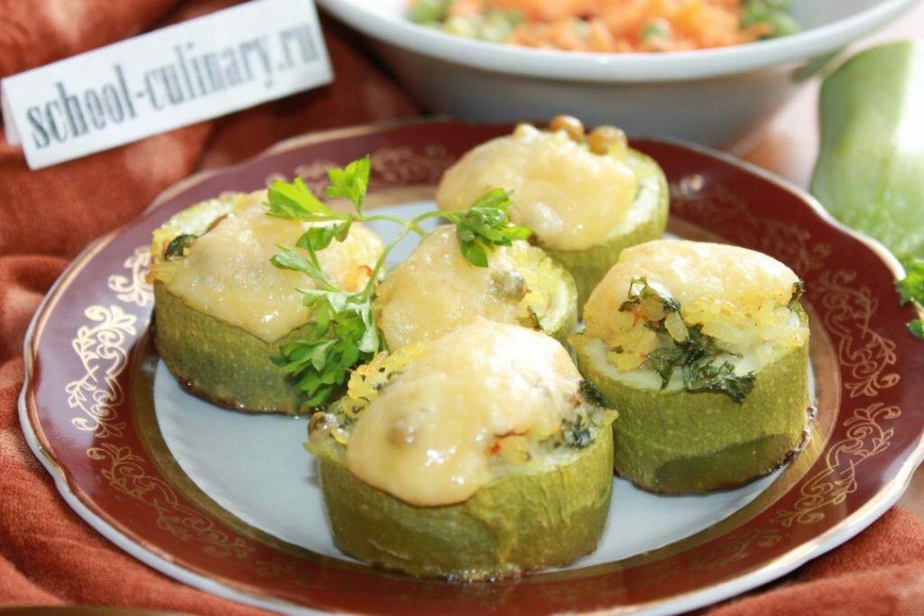 Диетические пп блюда из кабачков