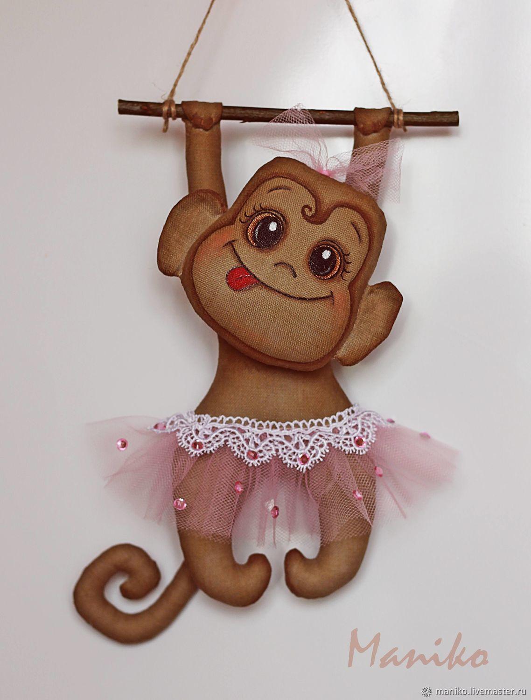 Простая обезьянка из носка