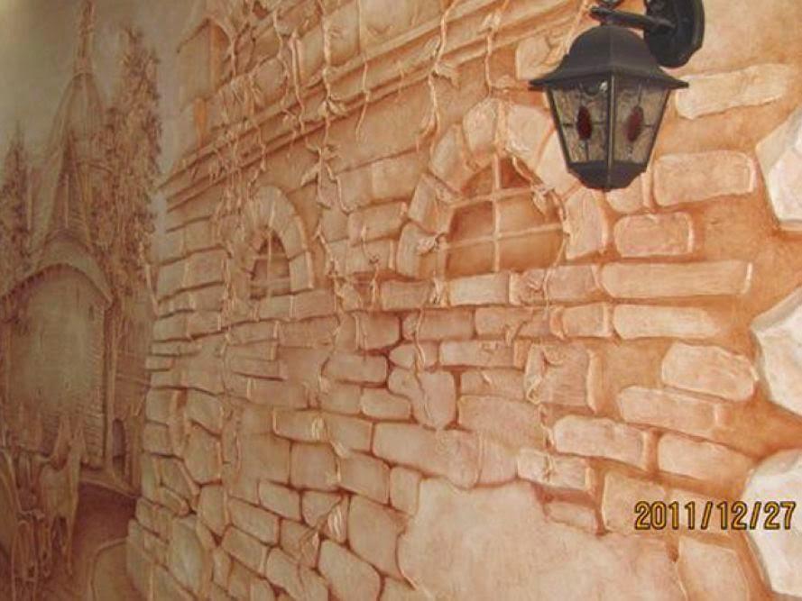 Как стены будем делать: 7 вариантов имитации кирпичной кладки