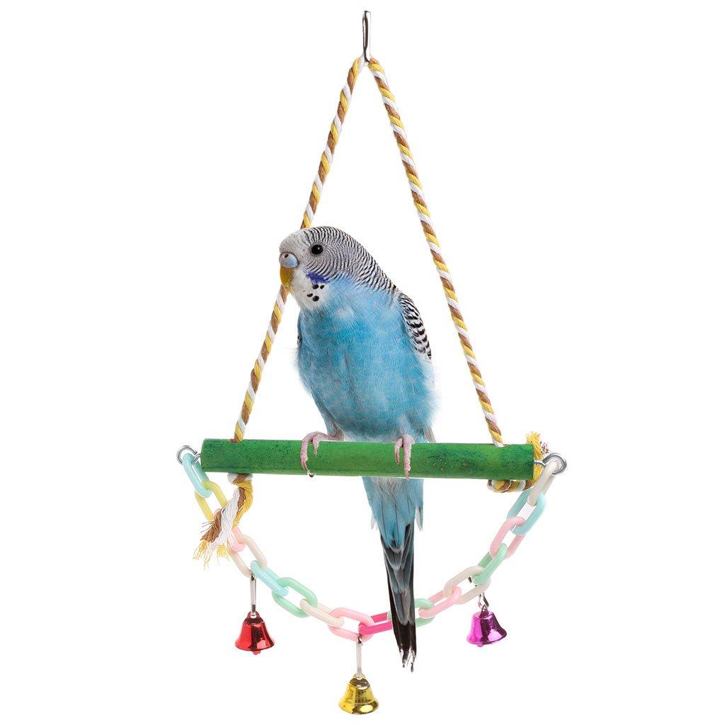 Полезные игрушки для волнистого попугая