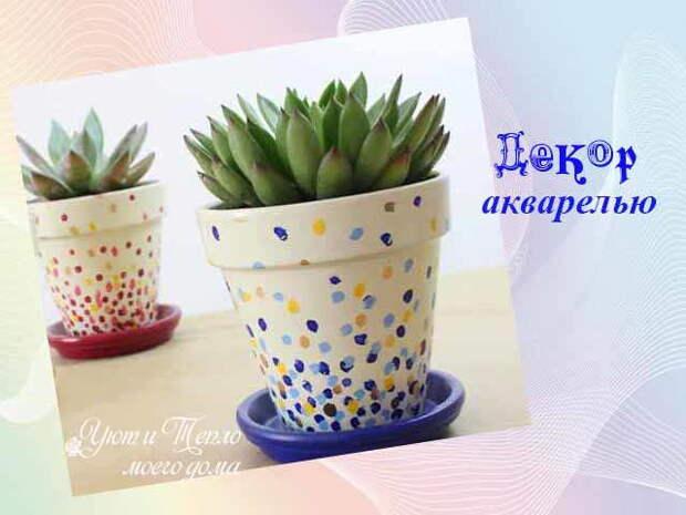 Цветочные горшки: креативные украшения для комнатных растений