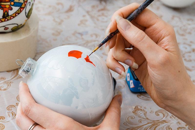 разрисовываем шар